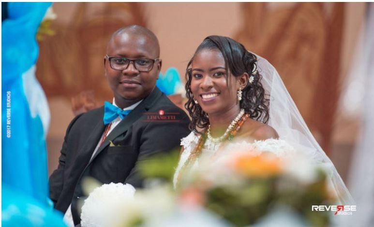 Mariage du journaliste blogueur Basile Niane