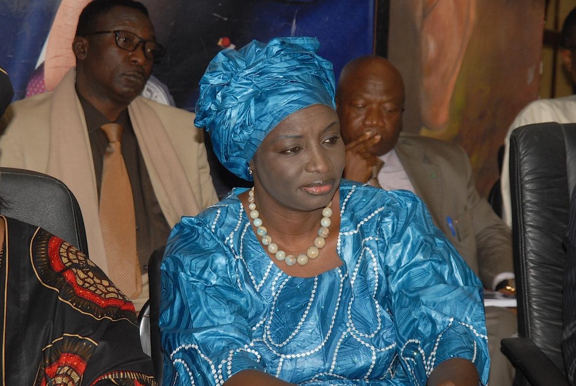Aminata Touré, l'envoyée spéciale du Président de la République, Aminata Touré.