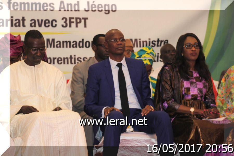 Cérémonie de lancement du programme de formation des femmes de la plateforme « AND JEGGO » : Les femmes au cœur de l'émergence