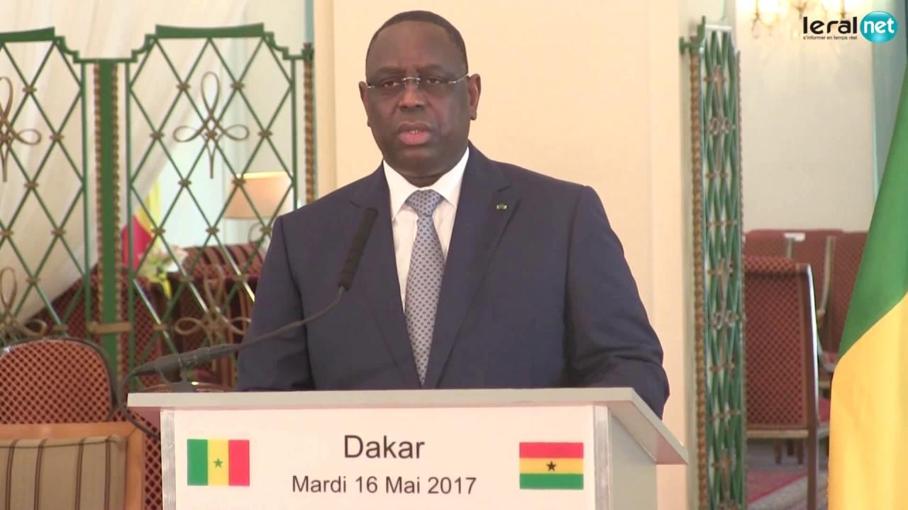 Gestion du pétrole et du gaz sénégalais:  Le président Macky Sall sollicite l'expérience du Ghana