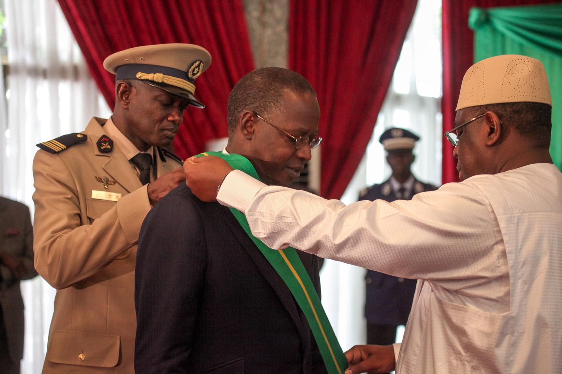 Mouhammed Boune Abdallah Dionne, le Premier ministre du gouvernement de la République du Sénégal.