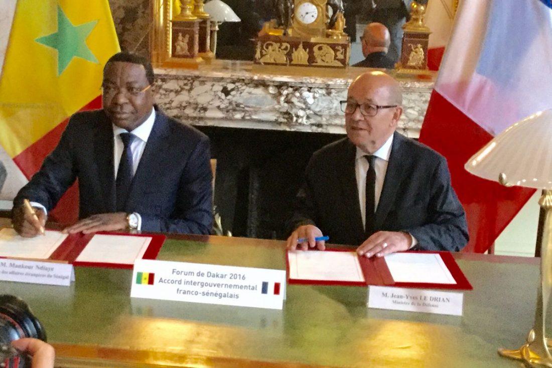 Mankeur Ndiaye salue la nomination de Jean-Yves le Drian au Quai d'Orsay: « C'est un ami du Sénégal »