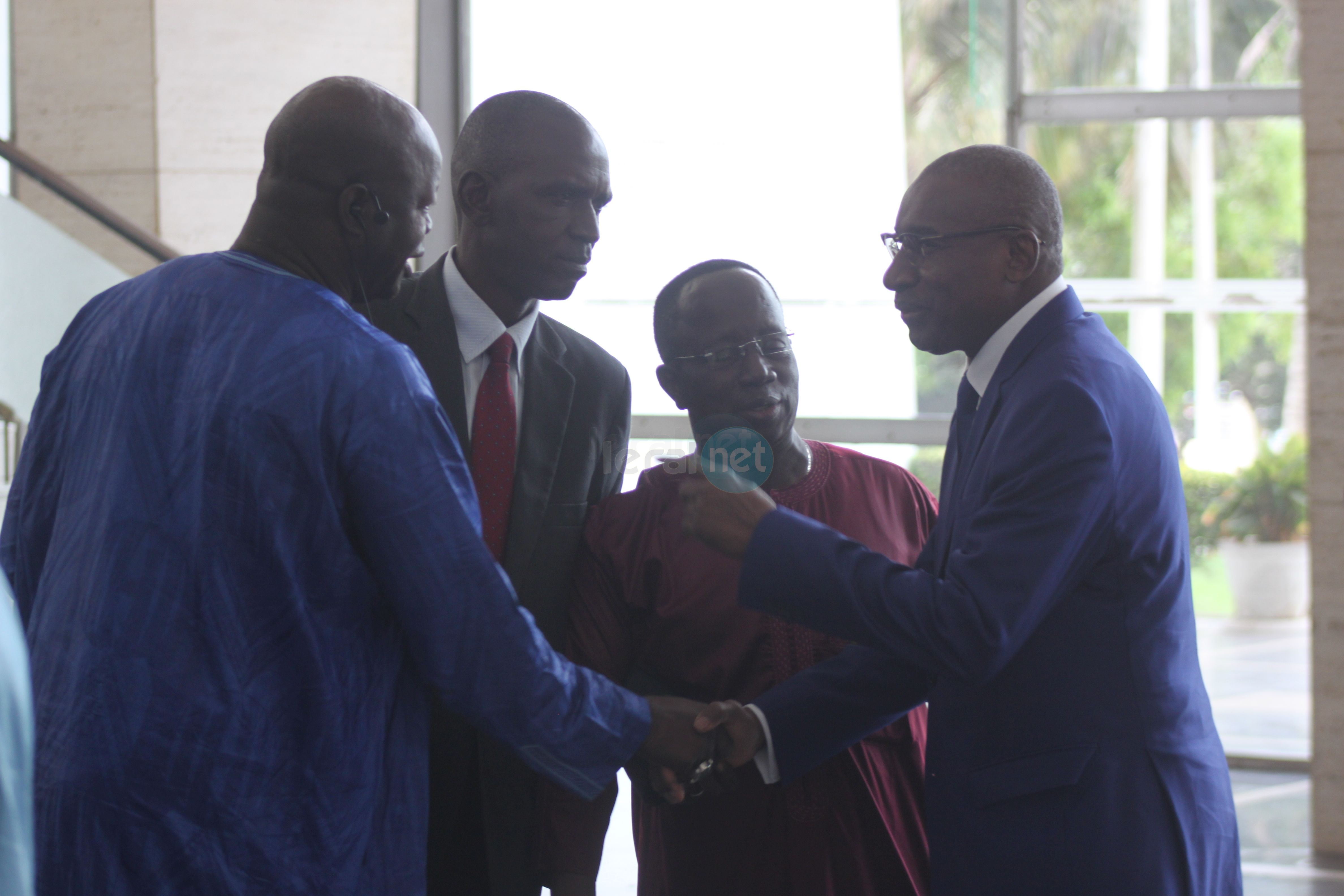 Le ministre de la Justice Me Sidiki Kaba à l' Assemblée nationale