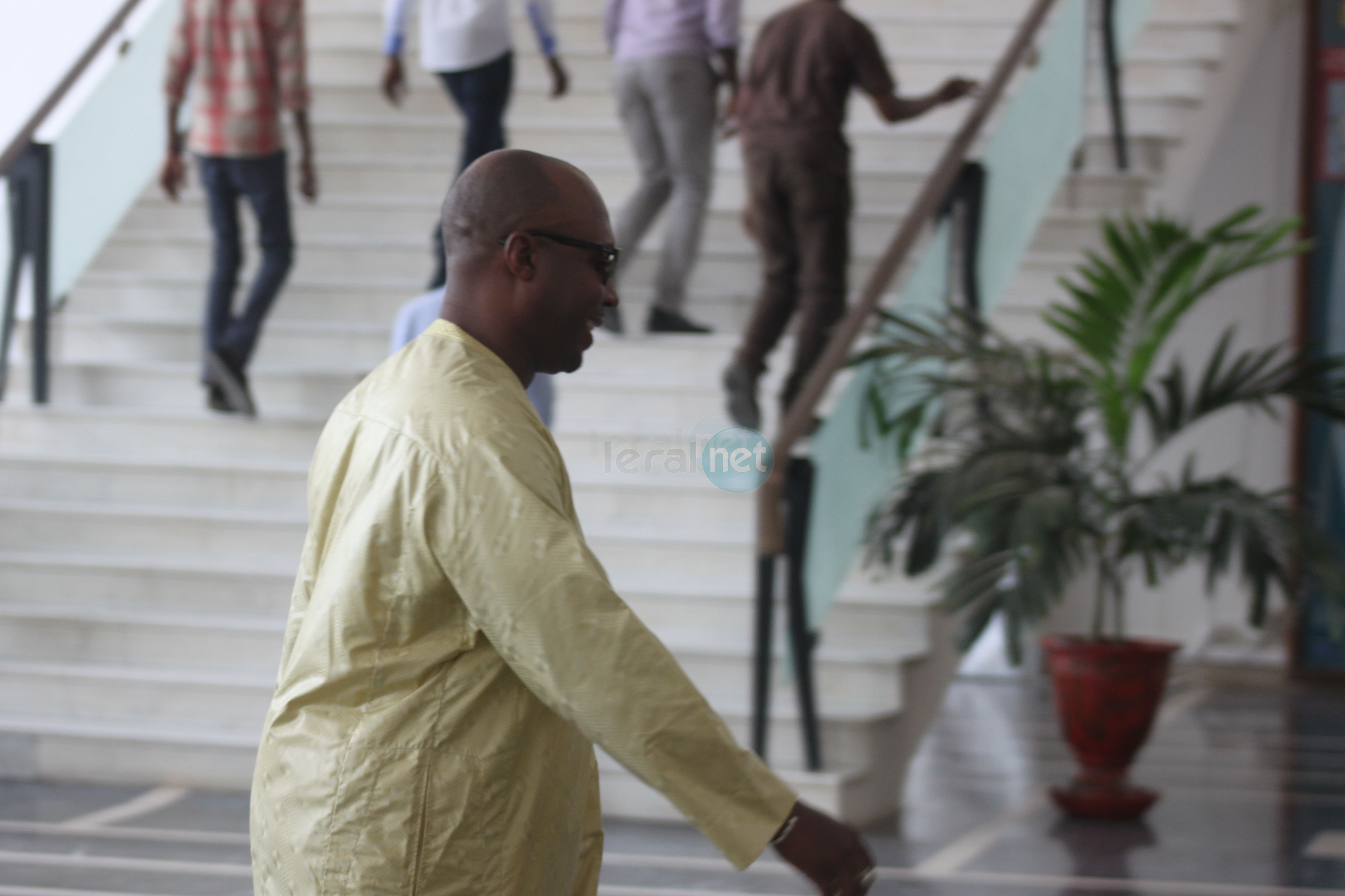 Barthélemy Dias à l'Assemblée nationale