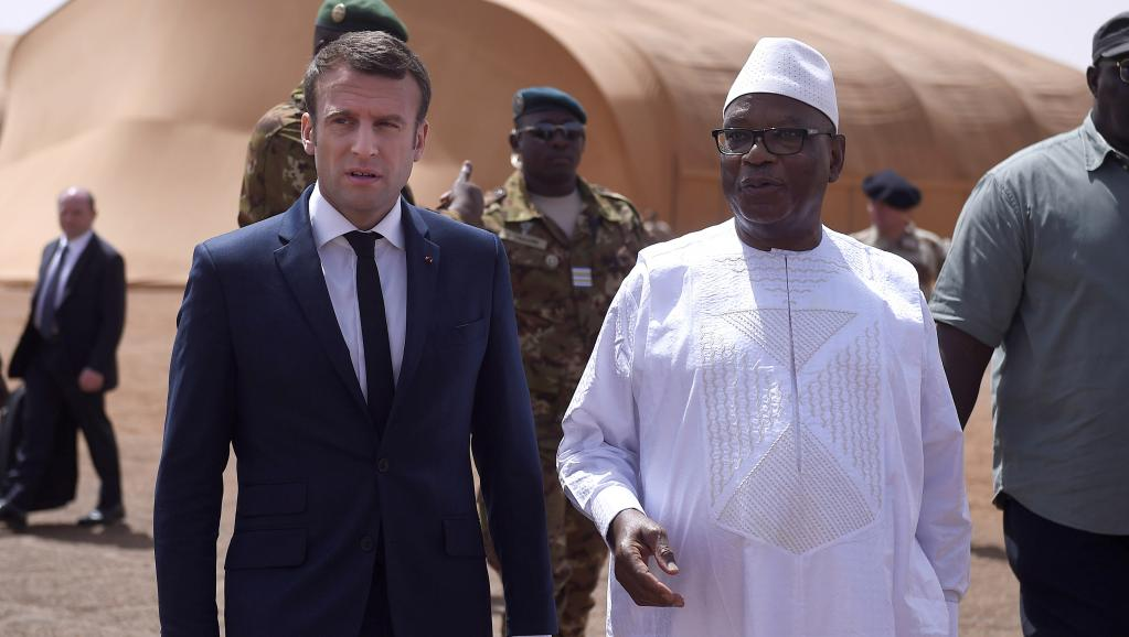 Mali: Emmanuel Macron accueilli à Gao par son homologue Ibrahima Boubacar Keïta
