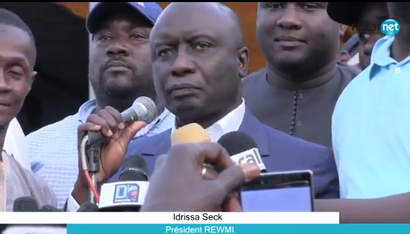 Idrissa Seck : « Par manque de bilan, le président Macky Sall s'est attaqué à Khalifa Sall et à Karim Wade»