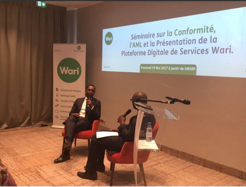 """Kabirou Mbodje, PDG Wari: """"L'ensemble des acteurs doivent travailler ensemble pour la traçabilité et la sécurité des flux financiers"""""""