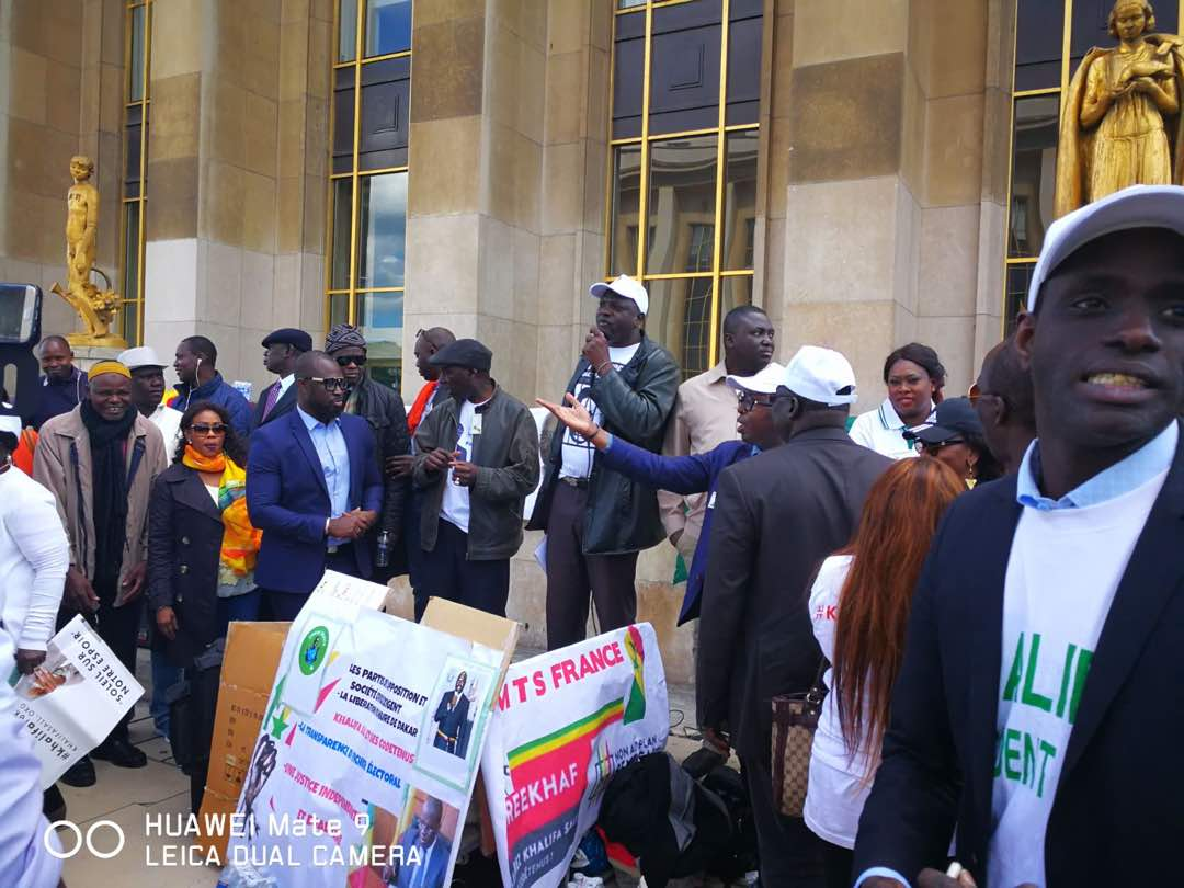Rassemblement pour la libération de Khalifa Sall: 24 heures après Dakar, Barthélémy et Bamba Fall galvanisent les troupes à Paris