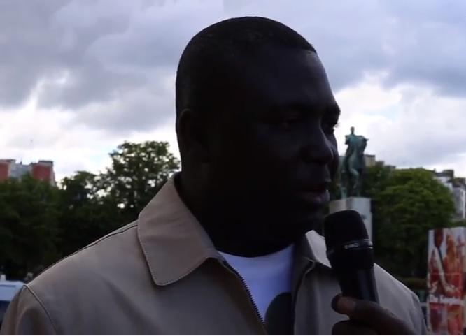 """Bamba Fall à Paris : """"Abdoulaye Wade est notre Nelson Mandela"""""""