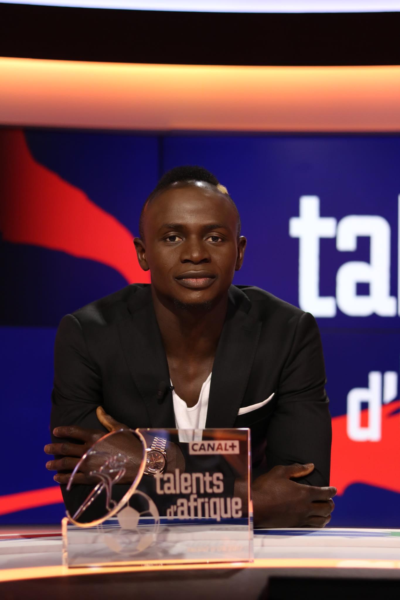 Sadio Mane élu meilleur joueur africain d'Europe