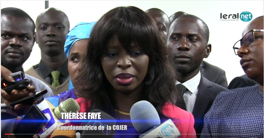 Thérèse Faye Diouf : « Manko Taxawu Senegaal est composée des mercenaires financés par Karim Wade »