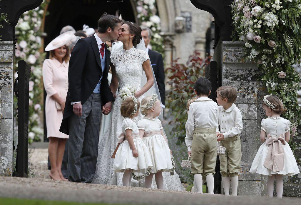 Mariage de Pippa Middleton: les invités devaient prononcer un mot de passe de sécurité !