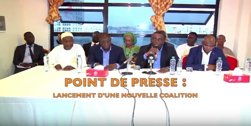 """Législatives du 30 juillet: Baldé, Guirassy et Mamour Cissé lancent """"Convergence patriotique""""  et démarchent Aïssata Tall Sall"""