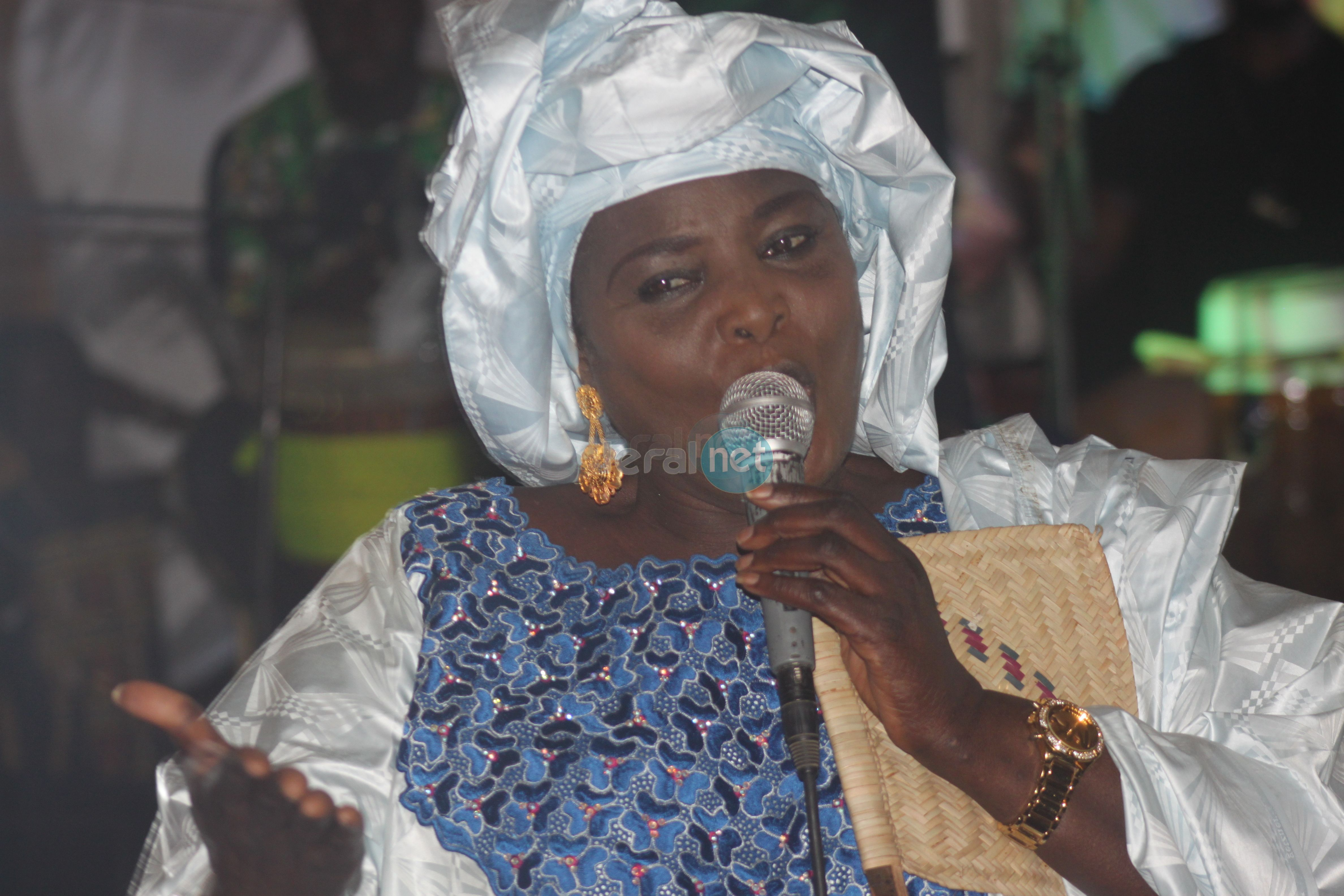 La maman à Coumba Gawlo Seck, Adja  Fatou Kiné Mbaye en quelques clichés
