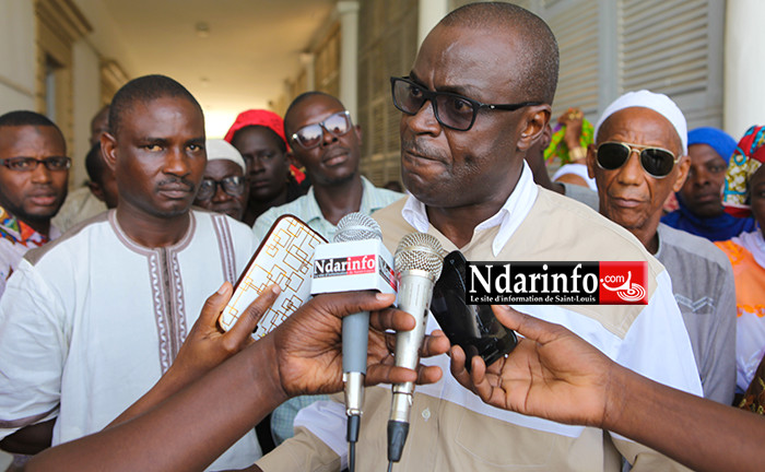 Vive colère du PS à Saint-Louis : « la déclaration d'investiture de Mansour Faye est inacceptable. Nous sommes prêts à … », crie Me Moustapha MBAYE