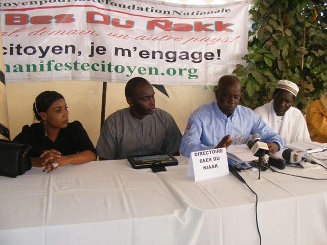 Le mouvement citoyen Bess Du Niakk décide