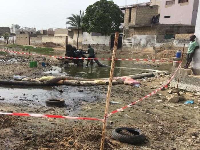 """Fuite d'essence du pipeline de la SAR-Le gouverneur de Dakar rassure: """"La situation est sous contrôle"""""""