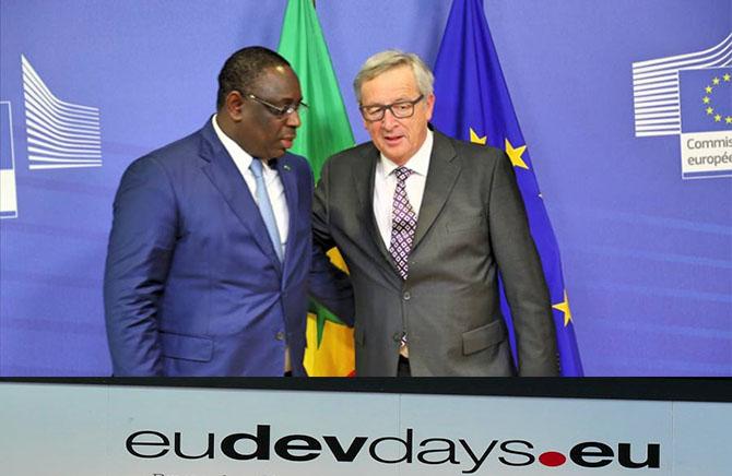 Hôte d'honneur des journées Européennes du Développement, le Président Macky Sall attendu à Bruxelles