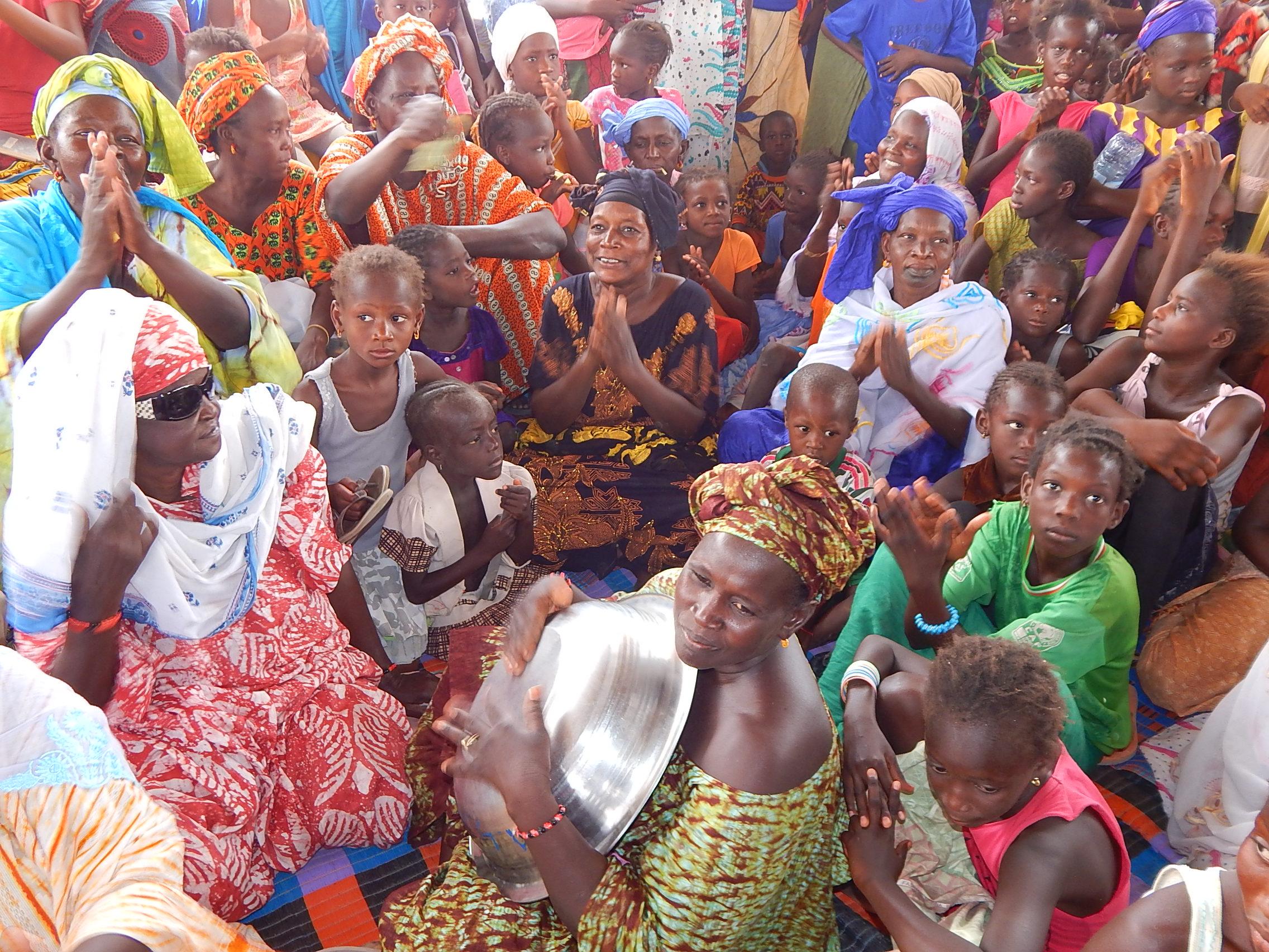 (Photos) PODOR /Tournée politique: Daouda Ly dit Mahi, Leader APR à Saldé, sillonne les  localités de l'île à Morphil