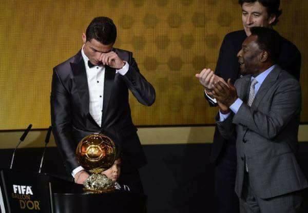 La belle leçon de Ronaldo !