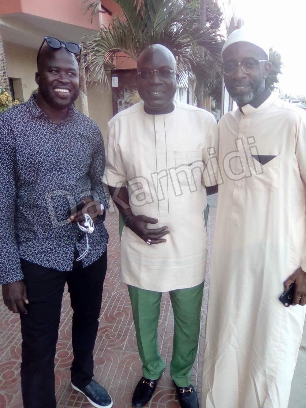 4 photos : Daouda Mbow s'affiche aux côtés de Bouba Ndour et de Pape Ndiaye Gualgou