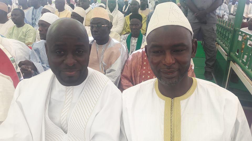 Photos : Thierno Bocoum et Cheikh Oumar Sy à la conférence religieuse de la famille de Serigne Moustapha Sy Djamil à Fass