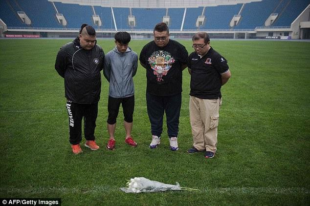 Les Chinois de Beijing saluent la mémoire de Cheick Tiote au Olympic Sports Centre Stadium