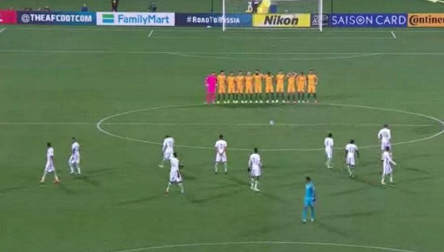Vidéo: Les joueurs saoudiens ont refusé l'hommage aux victimes de Londres