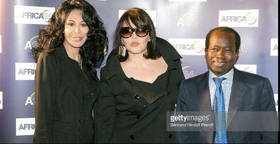 Yamina Benguigui, Isabelle Adjani et Diagna Ndiaye lors de la soirée Premiere Party For 'Africa.