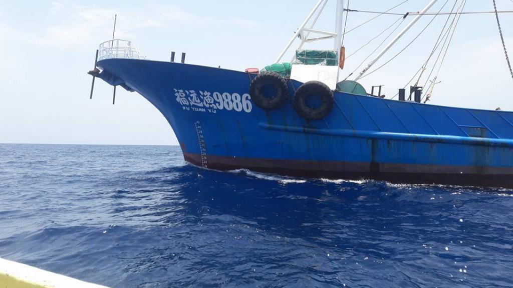 Des chalutiers battant pavillon chinois pris en flagrant délit au large de la Casamance (Marine sénégalaise)