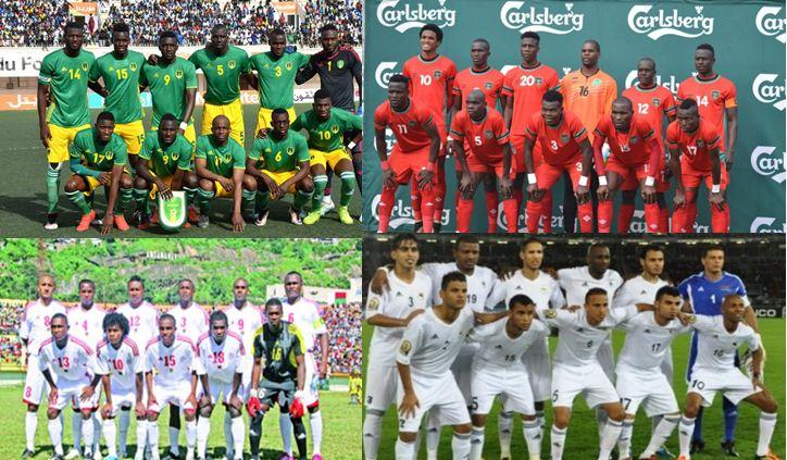 Résultats 1ère journée des Eliminatoires CAN 2019: La Mauritanie démarre fort, les Comores battus au Malawi, la Libye déroule contre les Seychelles, le Soudan surpris par Madagascar chez lui