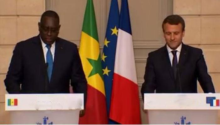 Les présidents Macky Sall et Emmanuel Macron, se sont entretenus sur diverses questions