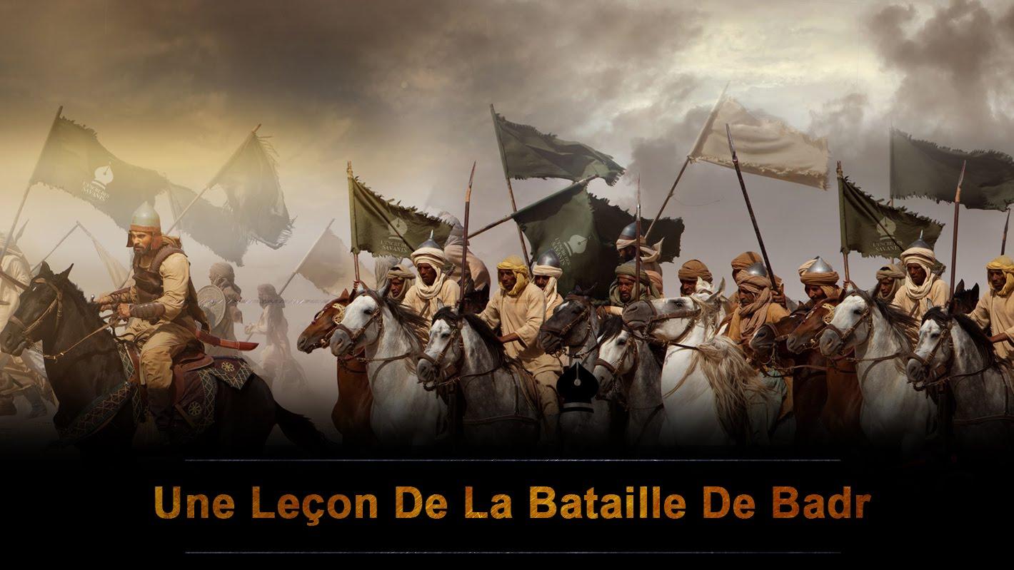 Exposé de Serigne Sam Mbaye sur la Bataille de Badr