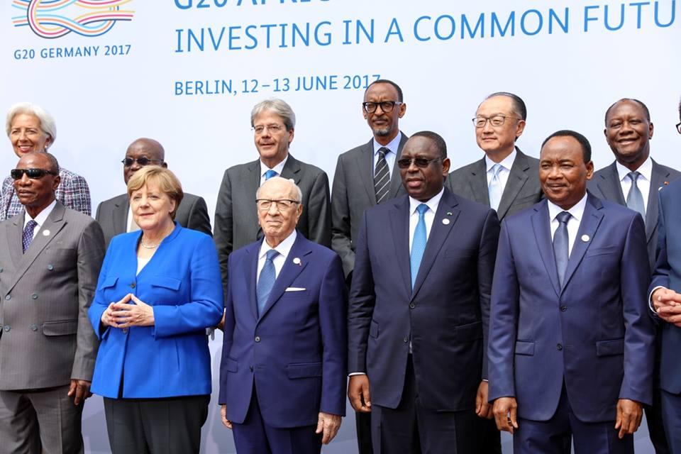 """Macky SALL à Berlin au  """"Compact with Africa"""" sur le partenariat avec l'Afrique"""