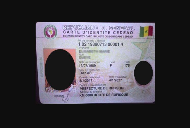 Ziguinchor : 30.000  cartes d'identité biométriques retirées sur 50.000  disponibles