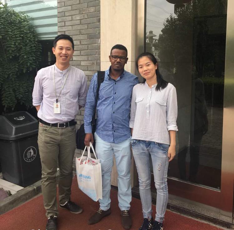 Le patron de Pc concept, El Hadji Diallo en Chine pour ramener de gros investisseurs à Dakar