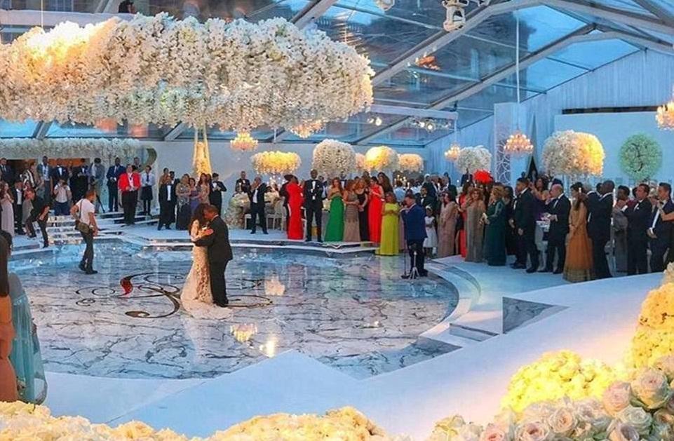 Le mariage de l'année avec un budget de plus de 3 milliards de FCFA entre un riche Nigérian et l'ex de Rob Kardashian