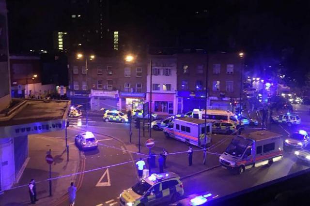 Londres : un véhicule fauche des piétons, un mort et huit blessés