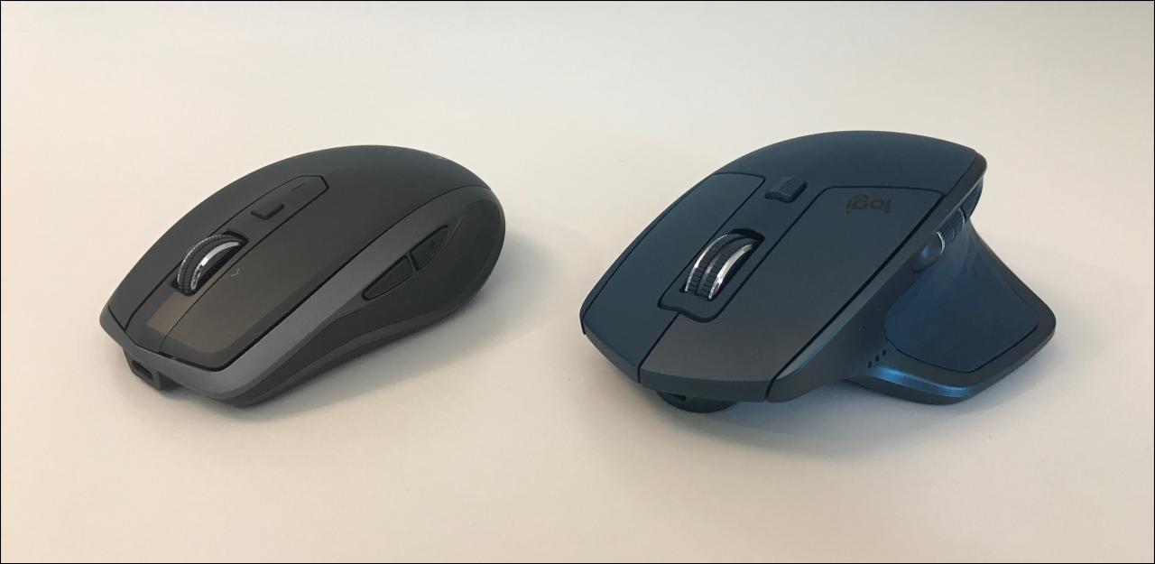 Ces souris peuvent gérer trois ordinateurs