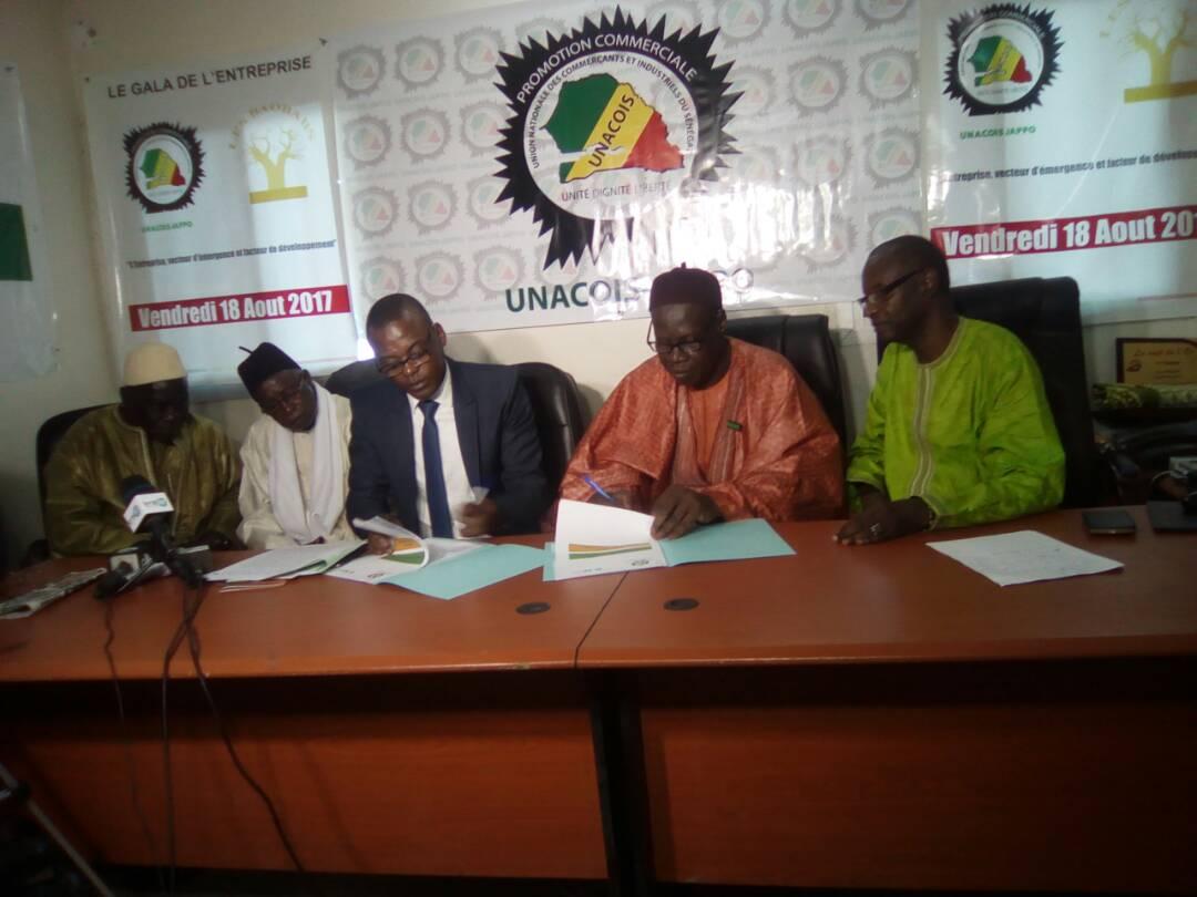 UNACOIS-JAPPO et Ensup'Afrique ont signés une convention de partenariats