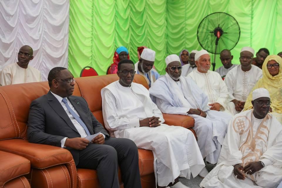 Photos : Macky Sall a présenté ses condoléances au MEFP, Amadou Bâ suite au décès de sa maman