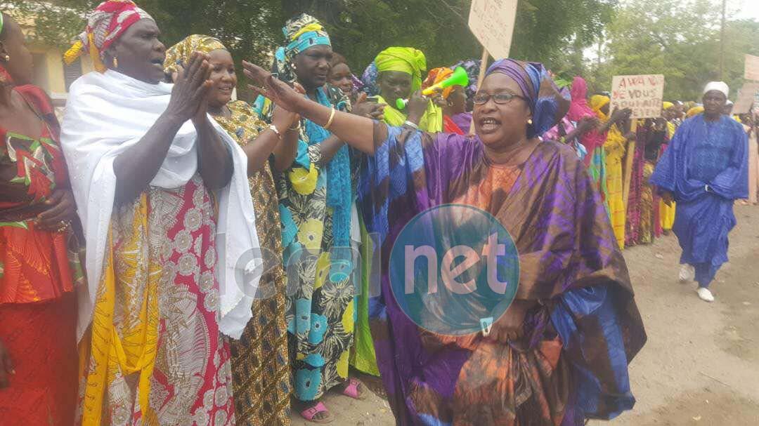(Photos) Saint-Louis: mobilisation pour l'accueil du Président Macky Sall