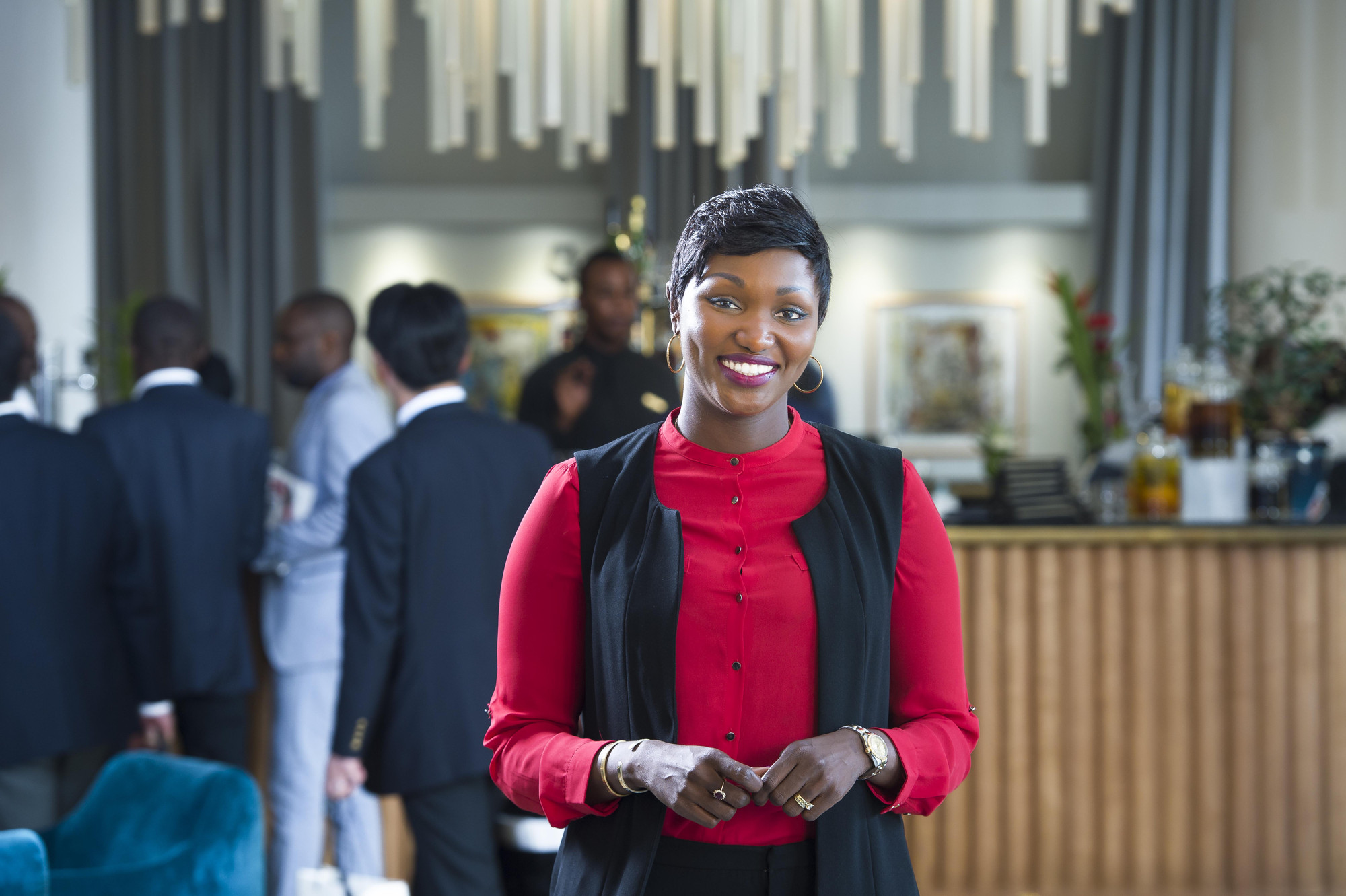 Anta Babacar Ngom Bathily, DG de la SEDIMA.