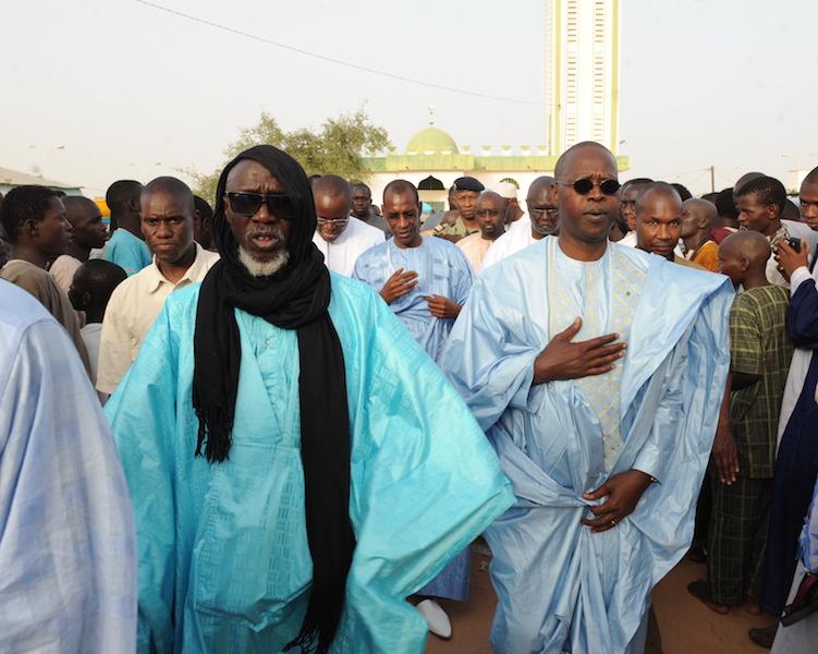 Le PM effectue la prière de Korité à la Mosquée Massalikoul Jinann