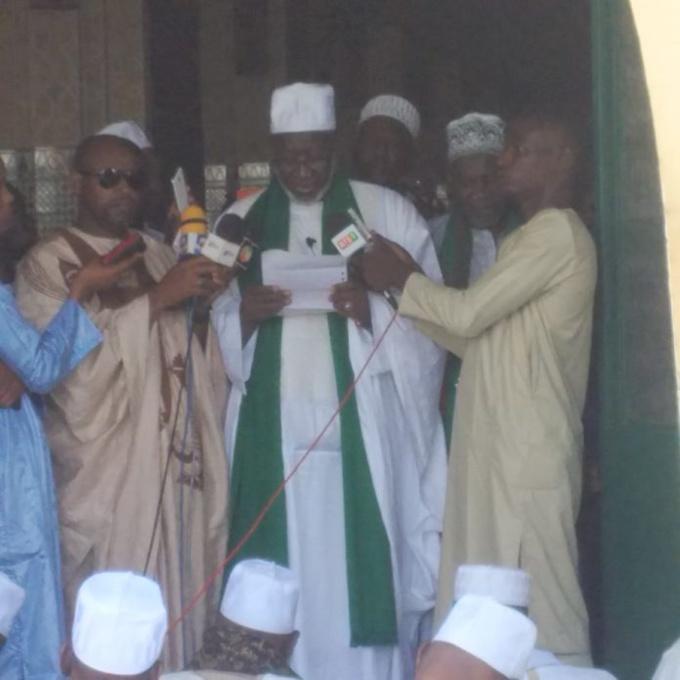 """Imam Thierno Madani Tall de la mosquée omarienne :"""" les critères de parenté ou d'amitié ne doivent pas guider le choix d'un député"""""""