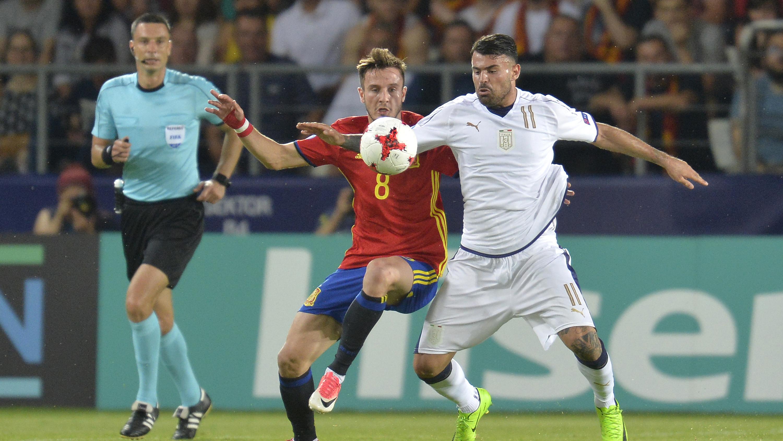 Euro U21 : l'Espagne et Saúl Ñíguez domptent l'Italie