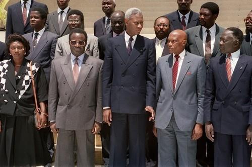 L'ancien Président, Abdou Diouf à Dakar pour prendre part aux obsèques de Habib Thiam