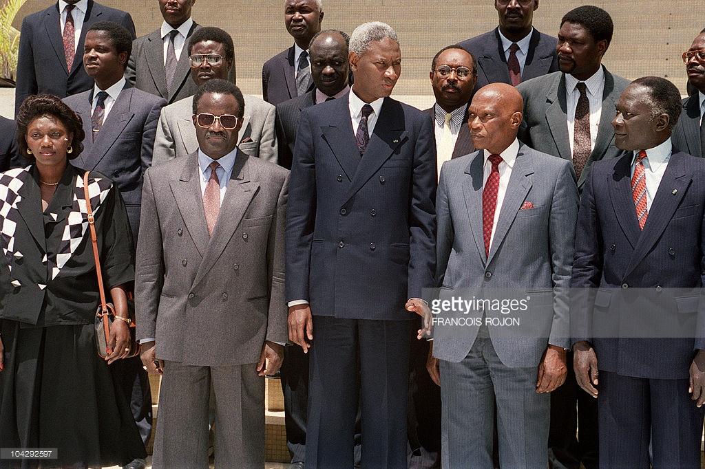 Habib Thiam, Abdou Diouf, Jean Collin, David Diop et le crash d'avion