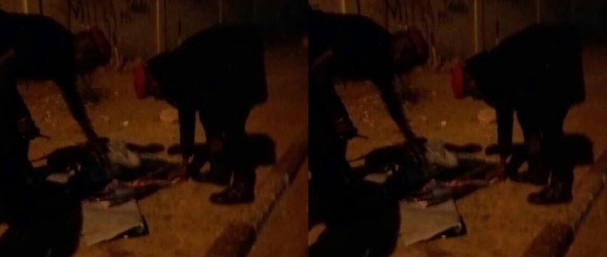 Des policiers pour brûler les affiches de Khalifa Sall