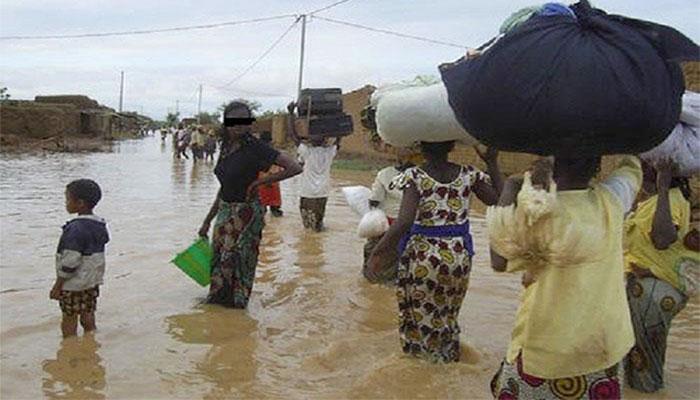 Kaffrine : D'importants dégâts matériels causés par la pluie